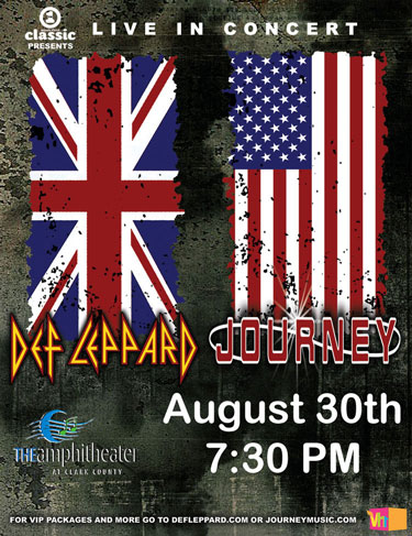 Def Leppard and Journey! - The Barfly has you hooked up