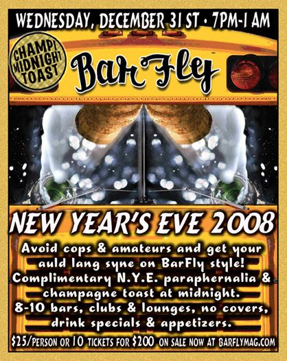 Portland New Years Party - Barfly Bus